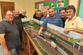 DCC layout at old HQ